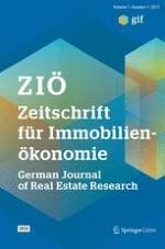 Zeitschrift für Immobilienökonomie 1/2015