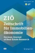 Zeitschrift für Immobilienökonomie 1/2016