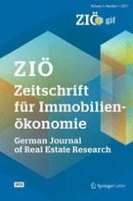 Zeitschrift für Immobilienökonomie 1/2017
