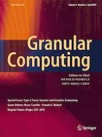 Granular Computing 2/2019