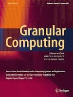 Granular Computing 1/2021