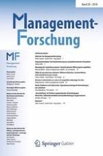 Managementforschung 1/2018