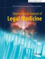 International Journal of Legal Medicine 4/2018