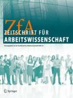 Zeitschrift für Arbeitswissenschaft 3/2014