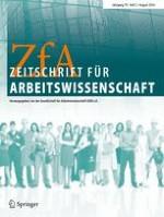 Zeitschrift für Arbeitswissenschaft 2/2016