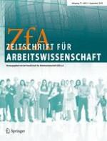 Zeitschrift für Arbeitswissenschaft 3/2018