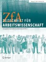 Zeitschrift für Arbeitswissenschaft 4/2018