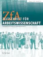 Zeitschrift für Arbeitswissenschaft 3/2019