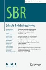 Schmalenbach Business Review 4/2017