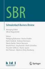 Schmalenbach Business Review 1/2015