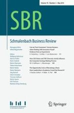 Schmalenbach Business Review 2/2018
