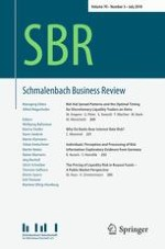 Schmalenbach Business Review 3/2018