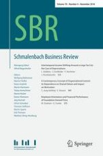 Schmalenbach Business Review 4/2018