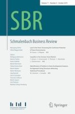 Schmalenbach Business Review 4/2019