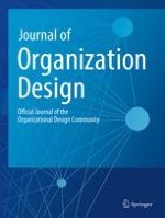 Journal of Organization Design 1/2019