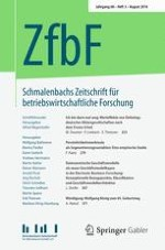 Schmalenbachs Zeitschrift für betriebswirtschaftliche Forschung 3/2016