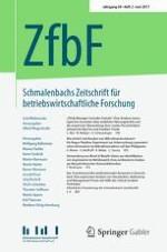 Schmalenbachs Zeitschrift für betriebswirtschaftliche Forschung 2/2017