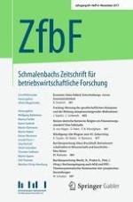 Schmalenbachs Zeitschrift für betriebswirtschaftliche Forschung 4/2017