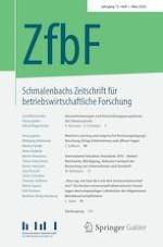 Schmalenbachs Zeitschrift für betriebswirtschaftliche Forschung 1/2020