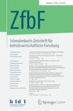 Schmalenbachs Zeitschrift für betriebswirtschaftliche Forschung 2/2020