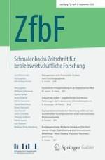 Schmalenbachs Zeitschrift für betriebswirtschaftliche Forschung 3/2020
