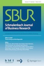 Schmalenbach Journal of Business Research 1/2021