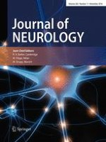 Journal of Neurology 11/2016