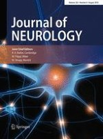Journal of Neurology 8/2016