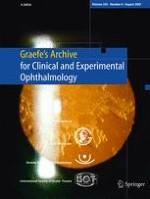 Graefe's Archive for Clinical and Experimental Ophthalmology 8/2007