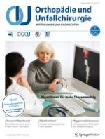 Orthopädie und Unfallchirurgie 1/2020