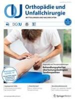 Orthopädie und Unfallchirurgie 3/2020