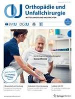 Orthopädie und Unfallchirurgie 1/2021