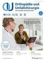 Orthopädie und Unfallchirurgie 4/2021