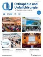 Orthopädie und Unfallchirurgie 3/2018