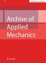 Archive of Applied Mechanics 2/2010