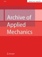 Archive of Applied Mechanics 1/2015