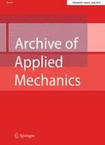 Archive of Applied Mechanics 6/2015
