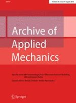 Archive of Applied Mechanics 8/2015