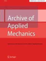 Archive of Applied Mechanics 1-2/2016