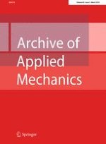 Archive of Applied Mechanics 3/2016