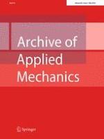 Archive of Applied Mechanics 5/2016