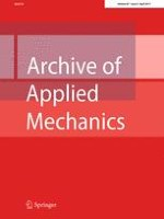 Archive of Applied Mechanics 4/2017