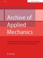 Archive of Applied Mechanics 5/2017