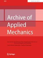 Archive of Applied Mechanics 5/2019