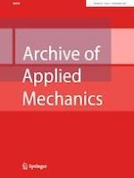 Archive of Applied Mechanics 11/2021