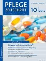 Pflegezeitschrift 10/2017