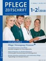 Pflegezeitschrift 1-2/2018
