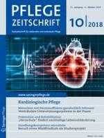Pflegezeitschrift 10/2018