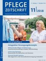 Pflegezeitschrift 11/2018