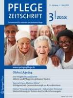 Pflegezeitschrift 3/2018